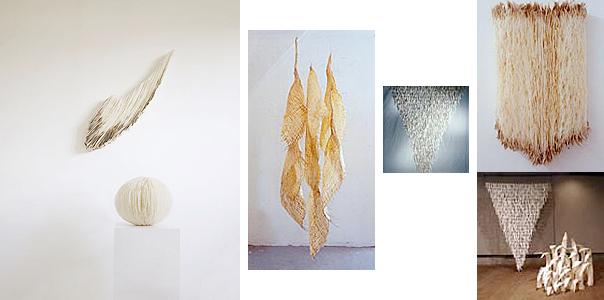 Papierobjekte und Installationen / Hannelore Weitbrecht, Kirchheim unter Teck