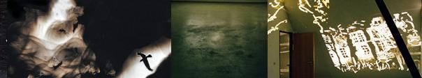 Kohlpechrabenschwarz, Raum – Licht – Zeichnung / Nikola Dicke