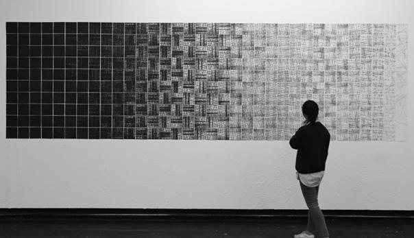 Jinsue Rhee - Graphische Arbeiten und Installationen