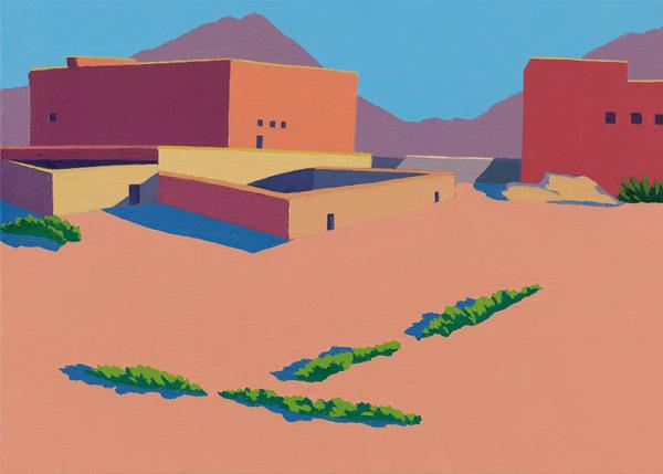 Wolfram Scheffel - Ölbilder und Farbholzschnitte